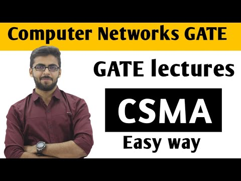 CSMA in Computer Networks | Computer Networks GATE Lectures | CN GATE