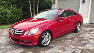 2012 Mercedes Benz E350 Coupe Review and Test Drive by Bill - Auto Europa Naples