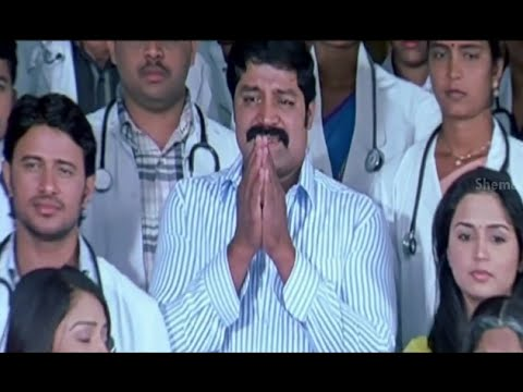 Badradri Full Movie Scenes - Doctors Save Badradri & Srihari Thanks Them All - Nikitha, Raja video