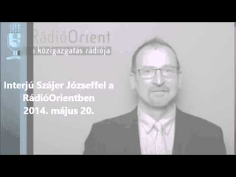 Interjú Szájer Józseffel - RádióOrient - 2014.05.22.