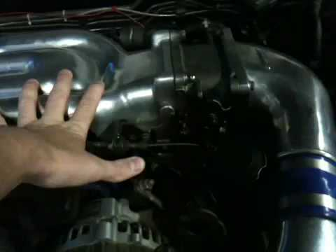 RX-7 engine bay introduction