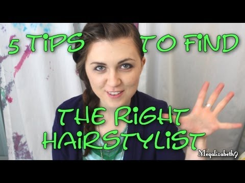 5 Tips to Finding the Right Hair Stylist for You