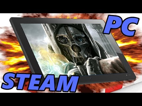 ВАУ!! Запускаем игры Steam для PC на планшете (Chuwi hi8)