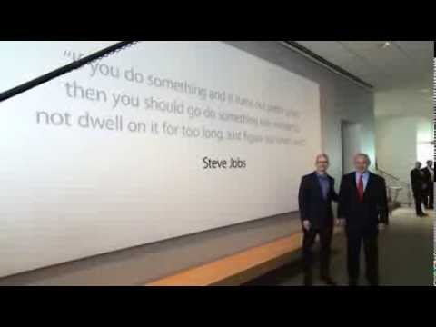 PM Benjamin Netanyahu at Apple inc.