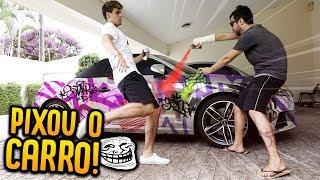 PINTEI O CARRO NOVO DO REZENDE!! ( MANCHOU ) [ REZENDE EVIL ]