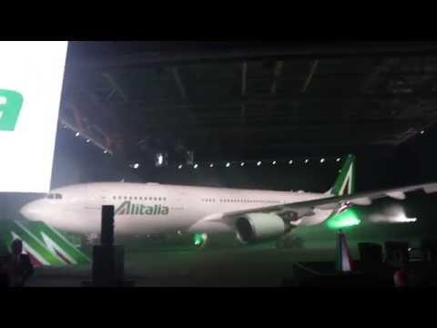 Presentazione nuovo brand Alitalia 4 giugno 2015