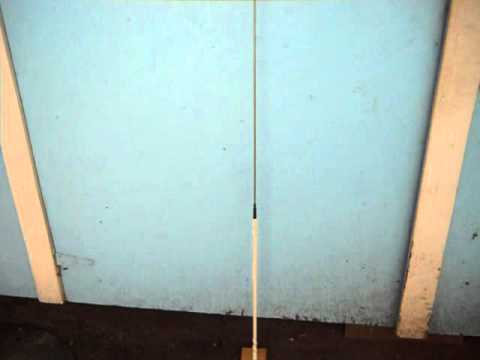 BIG GIANT MOBILE ANTENNA ( 103.5 Inches Tall with 2 Foot Load Coil )