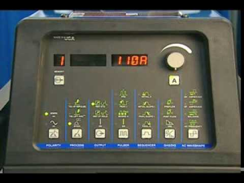 Dynasty 350 Control Panel Overview