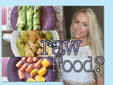What I Eat in a Day | Trying a Raw Food Diet