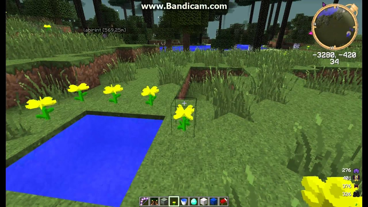 Как сделать сумеречный лес в майнкрафт 958