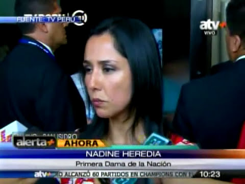 Tuteve.tv / Nadine Heredia: