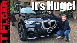2019 BMW X7 xDrive50i Walkaround: Is This The Biggest, Baddest BMW Ever?