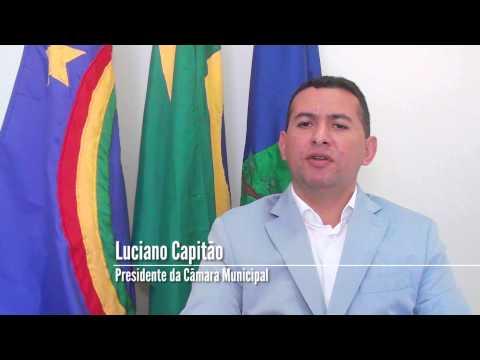 Mensagem de Natal do Presidente da Câmara Municípal Luciano Capitão