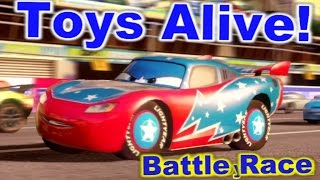 Cars 2: The video game ☆ Daredevil Lightning McQueen ☆ Battle Race on Harbor Sprint