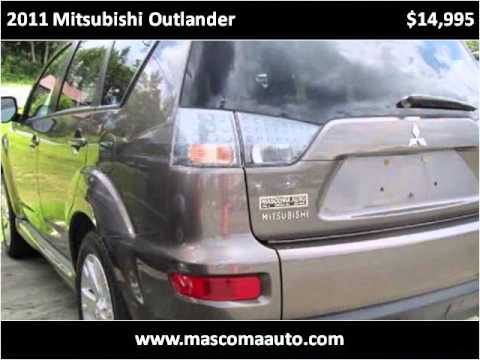 2011 Mitsubishi Outlander Used Cars Canaan NH