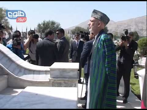 TOLOnews 19 August 2014 Karzai Marks Afghanistan's 95th Independence Day
