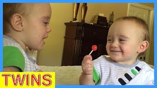 Twins Fight Over Lollipop | Cutest Moments