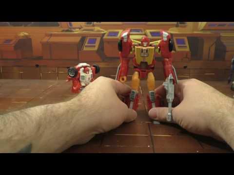 Transformers review Titans Return Hot Rod