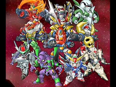SRW L - The Song Of Voltes V