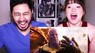 MARVEL'S AVENGERS: INFINITY WAR | Official Trailer | Reaction!