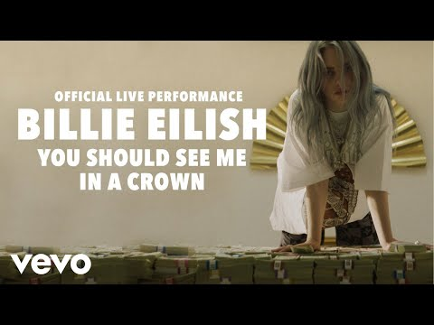 Download Billie Eilish  you should see me in a crown Official Live Performance  Vevo LIFT