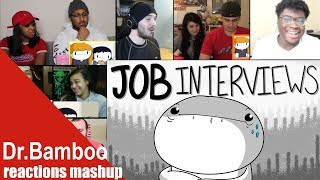 TheOdd1sOut: My Thoughts on Job Interviews REACTIONS MASHUP