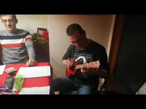 Blue Christmas. Ukelele cover in family. MP3