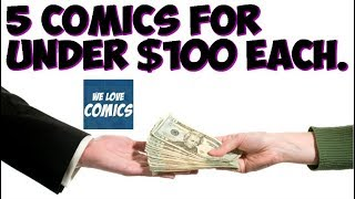 5 comics for under $100. Comics so easy to acquire.