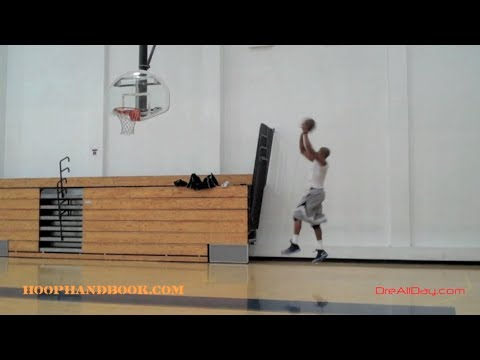Michael Jordan Post Move - Middle Ball-Fake, Pivot-Spin Baseline Fadeaway Jumpshot | Dre Baldwin