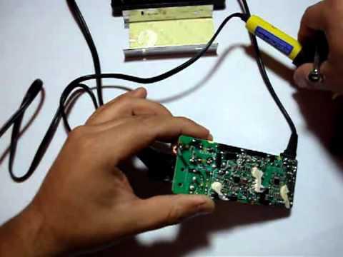 Reparando Cargador Sony Vaio   Como reparar Cargador Sony