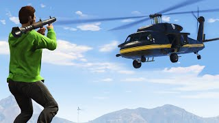 RPGS VS CHOPPERS! (GTA 5 Funny Moments)