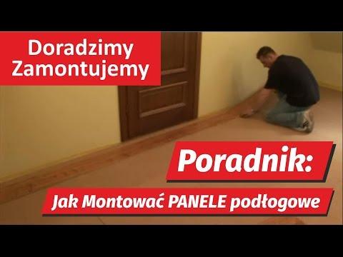 Poradnik HD: Panele podłogowe jak montować pokazuje fachowiec