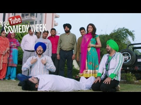 Best Punjabi Comedy Of 2013 By Jaswinder Bhalla, Guggi - Jatts In Golmaal | Punjabi Movie 2013 video