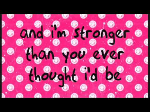 Lemonade Mouth (naomi Scott)-she's So Gone Lyrics video