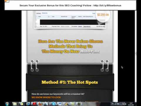 The 80% Law of SEO Review & Bonus - Top SEO Coaching by Alex Cass