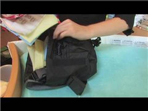 How to Use Cloth Diapers : How to Pack a Diaper Bag for Cloth Diapers
