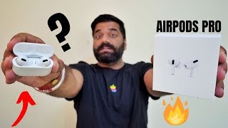 "Airpods Pro Unboxing & First Look - Airpods Pro Vs Airpods? Noise Cancelling ""PRO""🔥🔥🔥"