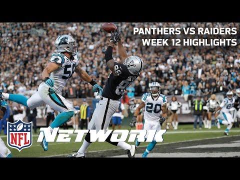Panthers Vs Raiders Highlights Week 12 Deion Sanders Lt Gameday