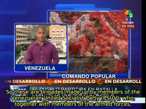 Venezuela: people's military commandos, a tool to combat economic war