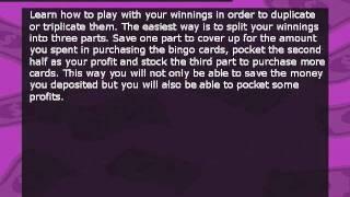 Online Bingo Cheat Sheet