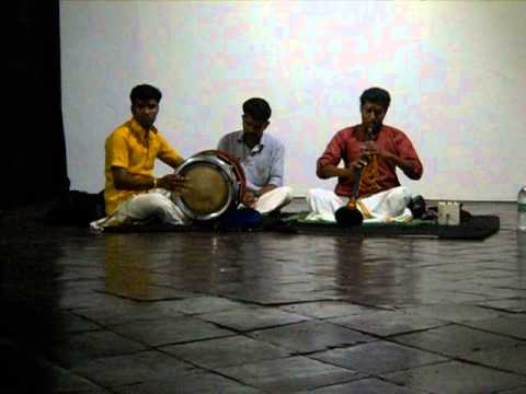 Nadaswaram Kacheri - BC Gallery, Mattancherry, Kerala, India 2/12/2016 Pt 2