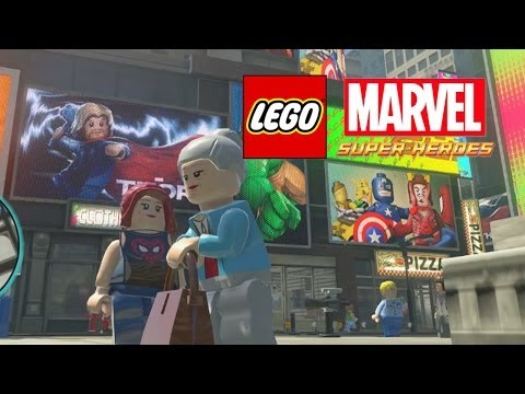 Lego Marvel-Aunt May and Mary Jane Watson Free Roam
