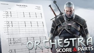 The Witcher 3: Geralt of Rivia | Orchestral Cover