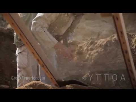 First Ever Video from Inside the Amphipolis Tomb