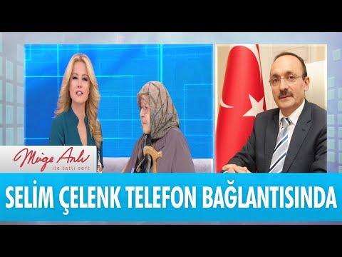 Aile ve Sosyal Politikalar Müdürü Selim Çelenk telefon bağlantısında - Müge Anlı İle Tatlı Sert