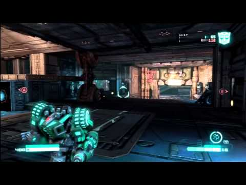 Transformers Fall of Cybertron - Second Multiplayer Gameplay Infiltrator & Destroyer w/ Commentary