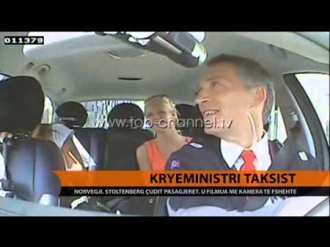 Kryeministri shofer taksie? Ndodh në Oslo! -  Top Channel Albania - News - Lajme