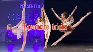 My Favourite trick of each Dance Moms girl