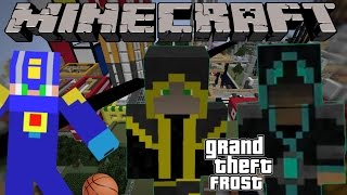 Фрост Попал В GTA IV — Minecraft Machinima