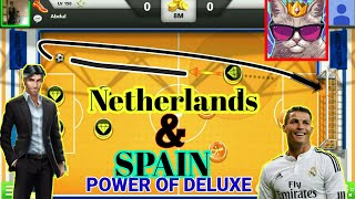 SPAIN&NETHERLANDS WHAT A PORWR OF DELUXE🔥 AMAZING SKILLS✌SOCCER STARS✅BEST OF TRICKS💯